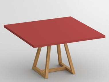 Square wooden table MARGO | Square table