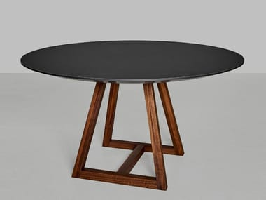 Round linoleum table MARGO | Round table
