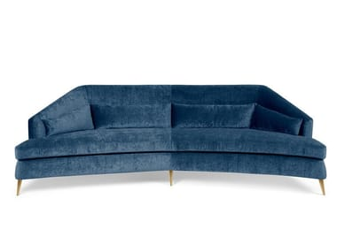 4 seater velvet sofa MARGOT