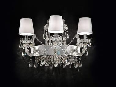 Lampade da parete in metallo cromato stile veneziano archiproducts