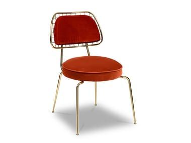 Brass chair MARIE   Chair