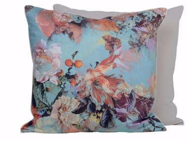 Square cotton cushion MARIEE