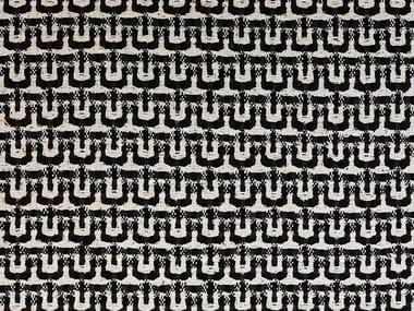 Tessuto in seta con motivi grafici per tende MARILÙ