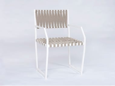 Garden chair with armrests MARIN