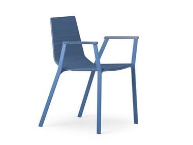 Wooden chair with armrests MARINA | Chair with armrests