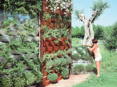 Outdoor greenwall MARINELLI SYSTEM