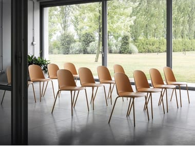 Stackable polypropylene chair MARIOLINA | Chair