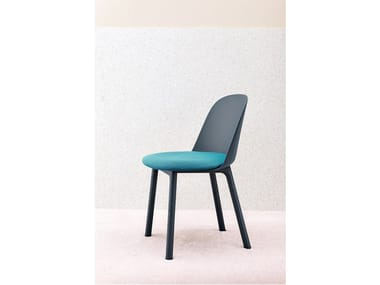 Chair with integrated cushion MARIOLINA | Chair with integrated cushion