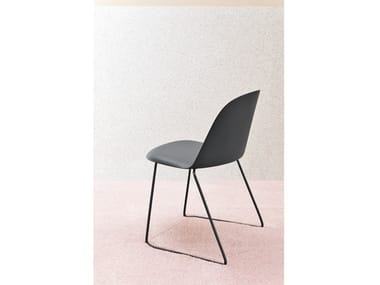 Sled base polypropylene chair MARIOLINA | Sled base chair