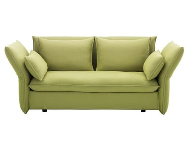2 seater sofa with removable cover MARIPOSA 2-SEATER