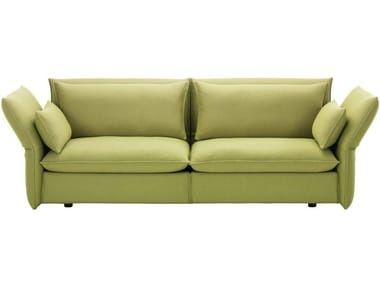 3 seater sofa with removable cover MARIPOSA 3-SEATER