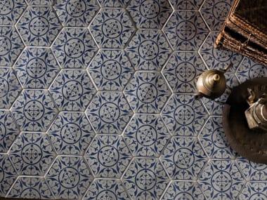 Red-paste wall/floor tiles MARRAKECH