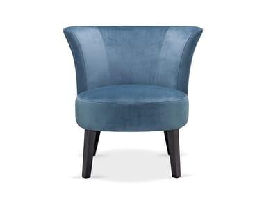 Cadeira lounge de tecido MARTE 01