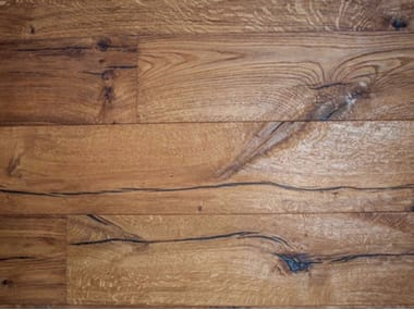 Prefinished brushed oak parquet MARTINA FRANCA