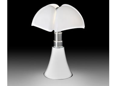 Stainless steel table lamp MARTINELLI LUCE - PIPISTRELLO WHITE