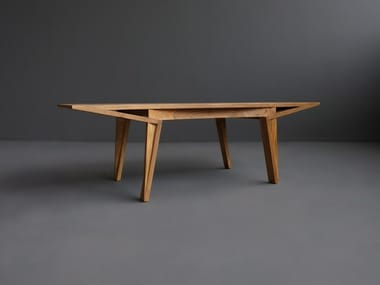 Solid wood coffee table MARU