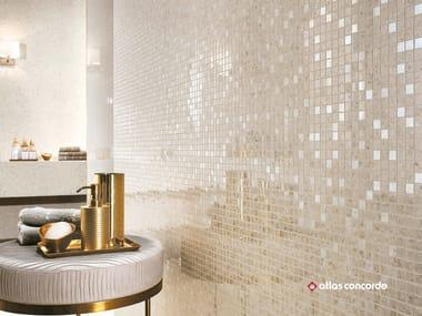 Mosaico in ceramica a pasta bianca MARVEL GEMS WALL | Mosaico in ceramica a pasta bianca