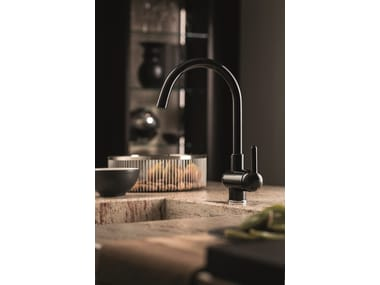 Countertop kitchen mixer tap with swivel spout MARVEL | Kitchen mixer tap with swivel spout