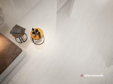Pavimento in ceramica a pasta bianca effetto marmo MARVEL STONE FLOOR | Pavimento effetto marmo
