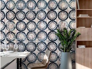 Papel de parede ecológico de tecido não tecido MASHRABIYA