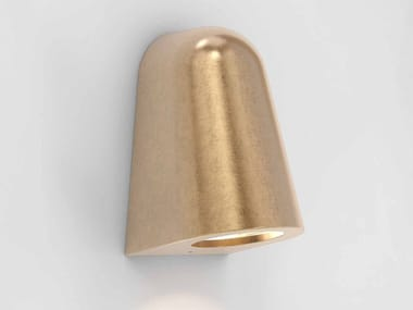 Brass Outdoor wall Lamp with dimmer MAST LIGHT | Brass Outdoor wall Lamp