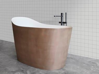 Vasca da bagno ovale in Flumood® MASTELLO
