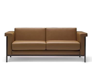 3 seater leather sofa MASTER | Leather sofa