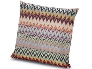Cuscino quadrato in tessuto MASULEH