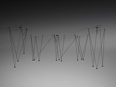 Aluminium pendant lamp MATCH