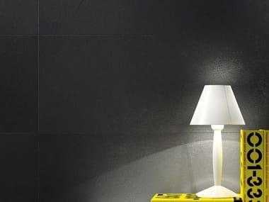 Pavimento/rivestimento in gres laminato effetto cemento MATERICA - ARDESIA