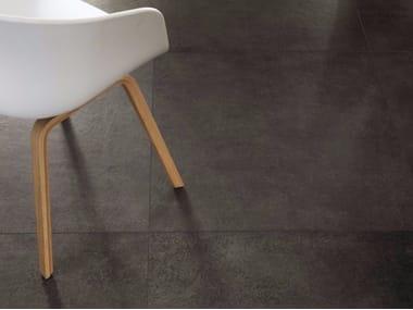 Pavimento/rivestimento in gres porcellanato effetto pietra MATERIE HIGH TECH - LAVA