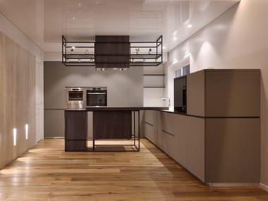 Custom kitchen with peninsula MATT