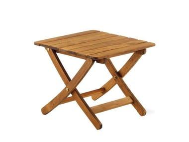 Wooden stool / coffee table MATTY