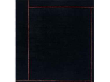 Square wool rug MAUD II