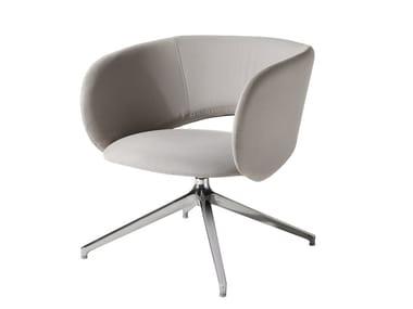 Swivel armchair MAUI LOUNGE | Swivel armchair