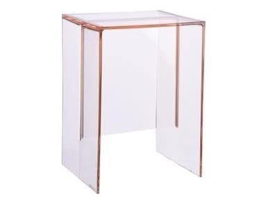 PMMA stool / coffee table MAX-BEAM