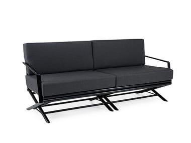 3 seater Batyline® garden sofa MAXIM PLUS | Garden sofa
