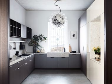 Cucina componibile in rovere MAXIMA 2.2 - RATIONAL LEVITY