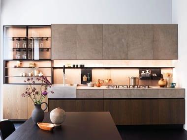 Cucina componibile lineare MAXIMA 2.2 - REFINED INTIMACY