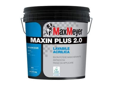 Lavabile a base d resine acriliche MAXIN PLUS 2.0