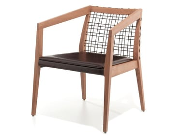 Leather easy chair MAXINE | Leather easy chair