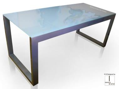 Glass table MAZA