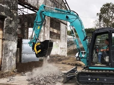 Accessories for construction site machinery MB-C50