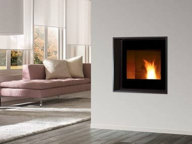 Pellet built-in steel fireplace MB PELLET EVO