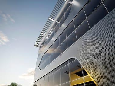 Aluminium Continuous facade system MB-SR 50 N (HI)