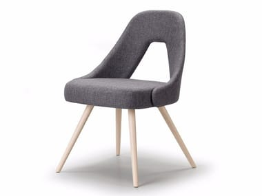 Upholstered fabric chair ME | Chair