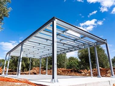 Sistema a secco con struttura portante in acciaio MECHANO STEEL FRAME