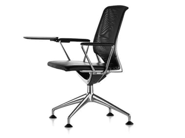 Training chair with 4-spoke base with armrests MEDA CONFERENCE
