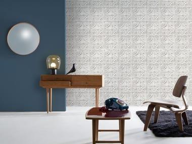 Wallpaper MEDALLION TIN TILES