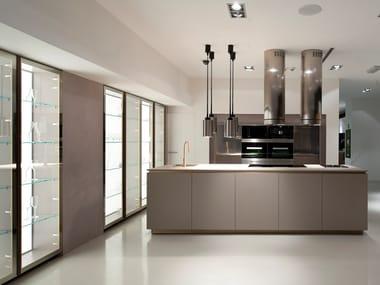 Fitted kitchen without handles MEDITERRANEUM